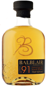 Balblair Highland Single Malt Scotch Whisky 1991