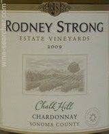 Rodney Strong Chalk Hill Chardonnay 2015