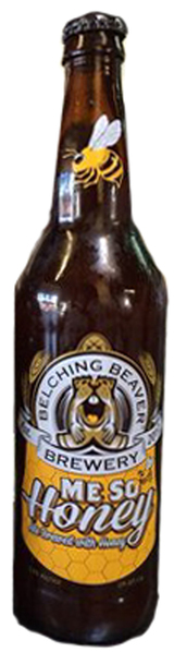 Belching Beaver Me So Honey - Honey Wheat Ale