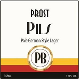 Prost Brewing Pils