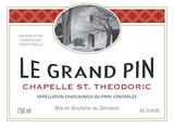 Chapelle St. Theodoric Chateauneuf du Pape Le Grand Pin 2012