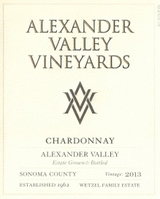 Alexander Valley Vineyards Chardonnay 2013