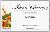 Jean Manciat Macon Charnay Les Crays 2011