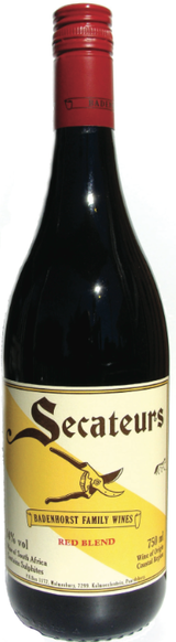 AA Badenhorst Family Wines  Secateurs Red Blend 2012