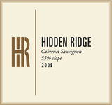 Hidden Ridge 55% Slope Cabernet Sauvignon 2012