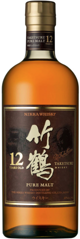 Nikka Pure Malt Taketsuru Whisky 12 year old