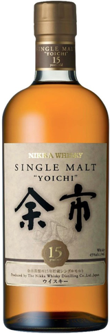Nikka Yoichi Single Malt Whisky 15 year old