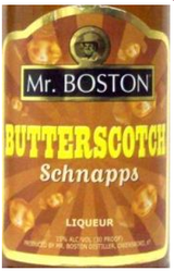Mr. Boston Butterscotch Schnapps