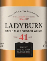 Ladyburn Single Malt Scotch Whisky 41 year old