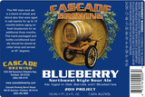 Cascade Brewing Blueberry Northwest Style Sour Ale