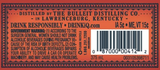 Bulleit Frontier Whiskey Bourbon