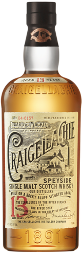Craigellachie Single Malt Scotch Whisky 13 year old
