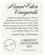 Mount Eden Vineyards Estate Cabernet Sauvignon 2011