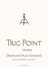 Trig Point Diamond Dust Vineyard Merlot 2013