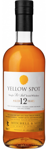 Mitchell and Son Yellow Spot Single Pot Still Irish Whiskey 12 year old