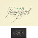 Seghesio Home Ranch Zinfandel 2012
