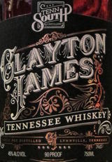 Tenn South Distillery Clayton James Whiskey