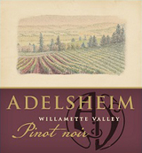 Adelsheim Willamette Valley Pinot Noir 2013