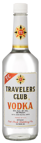 Travelers Club Vodka