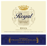 Bodegas Franco Espanolas Royal 2009