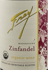 Frey Vineyards Organic Zinfandel 2013