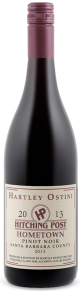 Hartley-Ostini Hitching Post Hometown Pinot Noir 2013