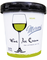 Mercer's Wine Ice Cream Riesling Ice Cream