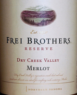 Frei Brothers Reserve Merlot 2013