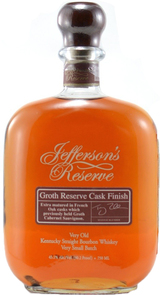 Jefferson's Groth Reserve Cask Finish Kentucky Straight Bourbon Whiskey