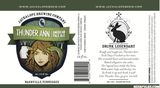 Jackalope Brewing Company Thunder Ann American Pale Ale