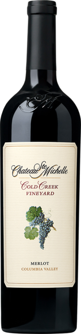 Chateau Ste. Michelle Cold Creek Vineyard Merlot 2012