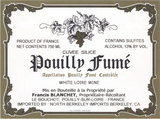 Francis Blanchet Pouilly Fume Cuvee Silice 2014