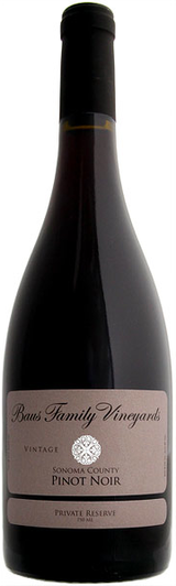 Baus Family Vineyards  Pinot Noir 2013