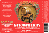 Cascade Brewing Stawberry Sour Ale