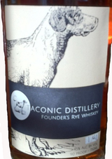 Taconic Distillery Founder's Rye Whiskey