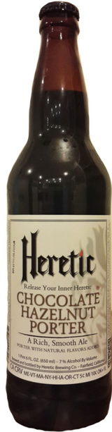 Heretic Brewing Chocolate Hazelnut Porter