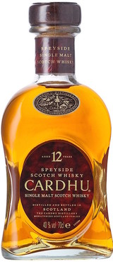 Cardhu Single Malt Scotch Whisky 12 year old