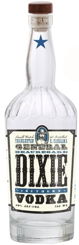 General Beauregard Dixie Vodka Dixie Southern Vodka