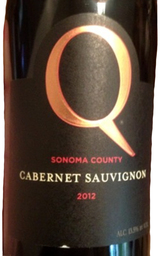 Q Vineyards Sonoma County Cabernet Sauvignon 2012