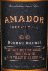 Amador Whiskey Company Double Barrel Bourbon