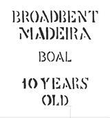 Broadbent Madeira Boal 10 year old