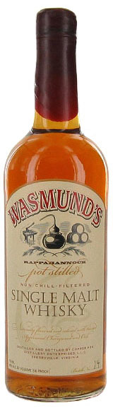 Wasmund's Single Malt Whiskey