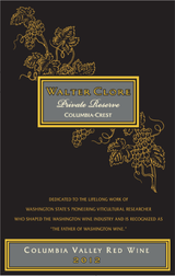 Columbia Crest Walter Clore Private Reserve Red 2012