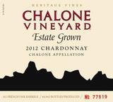 Chalone Vineyard Estate Chardonnay 2012