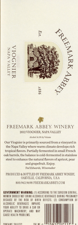 Freemark Abbey Viognier 2013