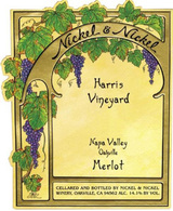 Nickel & Nickel Harris Vineyard Merlot 2013
