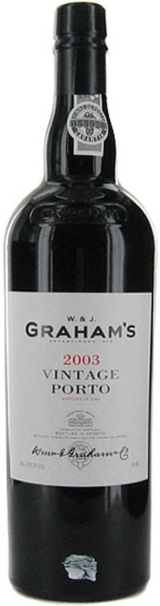 W&J Graham's Vintage Port 2003