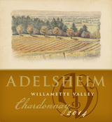 Adelsheim Willamette Valley Chardonnay 2014