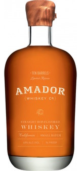 Amador Whiskey Company Ten Barrels Straight Hop Flavored Whiskey