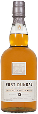 Port Dundas Distillery Single Grain Scotch Whisky 12 year old